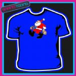 SANTA CLAUS FATHER CHRISTMAS TSHIRT CHILDRENS MENS & LADIES SIZES - 150901335935